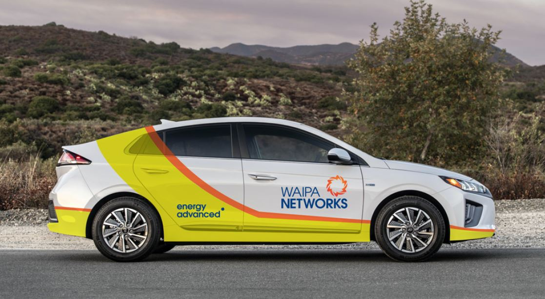 Waipa Networks EV Fleet Continues to Grow